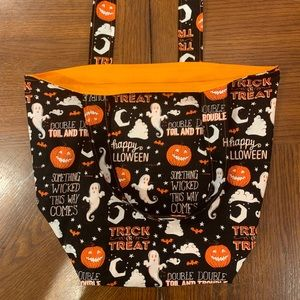 Handmade Halloween Trick or Treat Bag